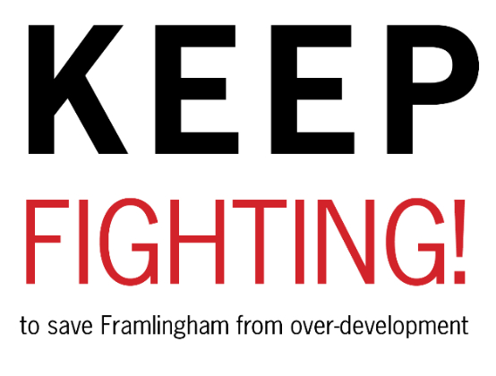 Keep Fighting Against Over-development